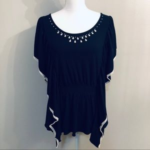 New Directions Black Blouse